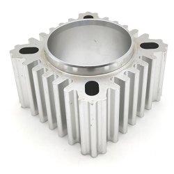Petit boîtier personnalisé moulage sous pression Extrusion dissipateur de chaleur en aluminium