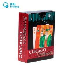 Qualité d'impression couleur pleine carte de jeu personnalisé boîte Boîte de parfum de tissus de cils oreiller Pack plat boîte pliable Package du caisson de nettoyage