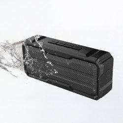 Étanche IPX6 2*3W Bluetooth haut-parleur actif portable avec la carte de TF et fonction de disque USB