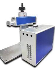 50W Mini Portátil Equipamento de marcação a Laser de fibra para materiais metálicos