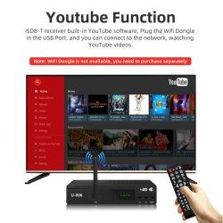 Precio barato H. 264 ISDB Uruguay Sintonizador de TV Digital ISDB-T el receptor