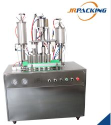 Благоприятных Полуавтоматическая машина для наполнения в аэрозольной упаковке дезинфицирующее средство/воздух более свежую/дезодорант