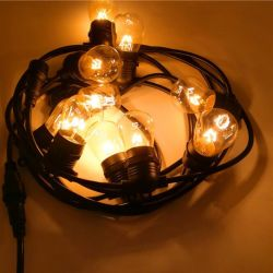 E27 de ZonneLichten van de Kerstboom van het Koord van de Lamp van het Koord van de Lamp Decoratieve