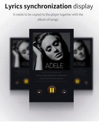 Reproductor de música MP4 de 1.8 pulgadas Bluetooth Reproductor de música MP4 CON FM, E-book, el micrófono HiFi MP4 Player