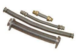 Edelstahl-Metallgewölbter flexible Schlauch mit Einfassung