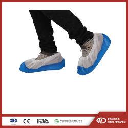 Non tissés jetables PP+CPE enduit anti-dérapant couvercle du caisson de nettoyage de l'industrie intérieure étanche