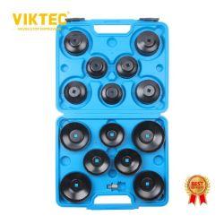 CER Viktec guter Schmierölfilter-Schutzkappen-Schlüssel des Hilfsmittel-15PC (VT01037)