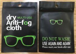 15*15cm Occhiali in microfibra tessuto antiappannamento riutilizzabile per lenti