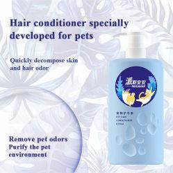 Tutto il gel lungo organico dell'acquazzone del cane del gatto del condizionatore dei capelli di uso degli animali domestici dei capelli degli estratti naturali della pianta per governare dei capelli dell'animale domestico