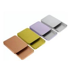 사용자 지정 컬러풀한 소형 메탈 솔리드 액체 케이스 슬라이드 민트 틴입니다