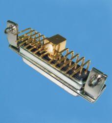 Heiße Zellen-Fabrik-kundenspezifische 21W1 Energie D-SUB
