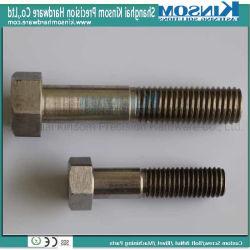 De aço inoxidável 304 parafuso hexagonal com rosca parcial fixadores personalizados/Parafusos Sextavados/SS304 parafuso/SS316 o Parafuso e Porca