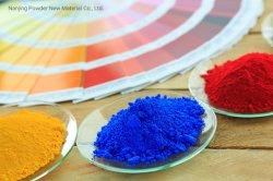 고광택 블루 실내 폴리에스테르 분말 코팅 RoHS ISO9001