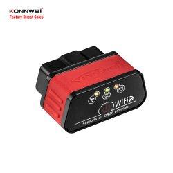 KW903 ELM 327 WiFi OBD2 Code Reader OBDII Diagnostic Tool للسيارة 12 فولت