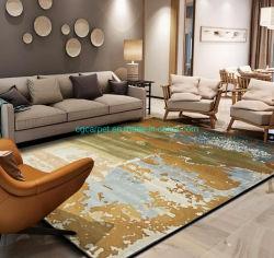 손으로 친 카펫의 맞춤 카펫 깔개 및 Mat Wool 나일론 고급스러운 Bamboo 섬유 비스코스 아크릴 카펫
