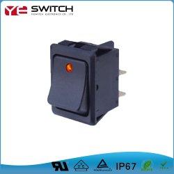 La posición 2-3 Plata coche de seguridad de la terminal del interruptor basculante