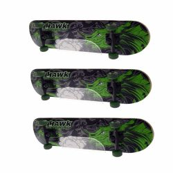 Commerce de gros de l'acrylique Skateboard étagère d'affichage monté au mur