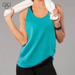 Armhole van de Daling van de Langsligger van de Gymnastiek van de Vrouwen van de douane Mouwloos onderhemd