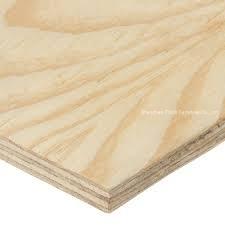 3-laags Hoge kwaliteit Strand borden Plywood voor meubels en Indoor Construction, Outdoor Construction