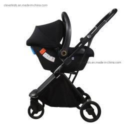 عربة أطفال قابلة للطي محمولة خفيفة الوزن من الألومنيوم عالي الجودة نظام سفر الحامل 3 في 1