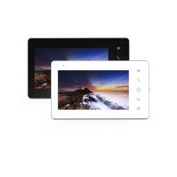 7 Zoll-video Wechselsprechanlage-Türklingel-Digital-Videogerät-video Tür-Screen-Türklingel-inländisches Wertpapier-Türklingel-Interfon