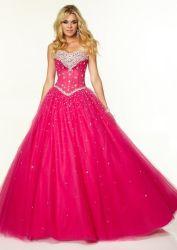 Cordón de cristal de color turquesa del Partido de la Prom vestidos formales vestido de noche vestido de bola