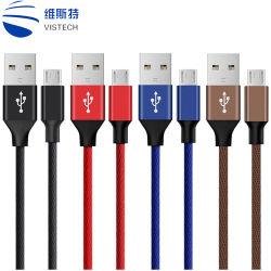 Различные модели красочные экранирующая оплетка - быстрая зарядка USB-кабель передачи данных