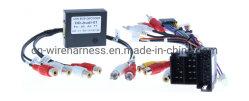 Autoradio stéréo complet Installer kit de tableau de bord + Adaptateur de faisceau de fils et antenne