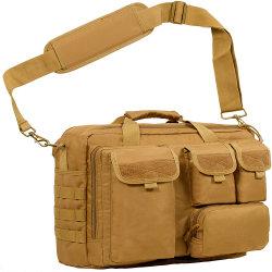 """[مولتيفونكأيشن] مسيكة كتف رسول عسكريّة تكتيكيّ حقيبة 17.3 """" [لبتوب كمبوتر] كاكيّة خارجيّ آلة تصوير مقلاع حقيبة"""