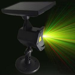 Indicatore luminoso solare personalizzato del giardino del laser per la festa