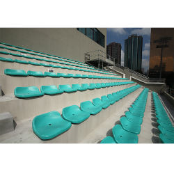 Centro Desportivo do Estádio Arena, a audiência do Tribunal de beisebol assento plástico