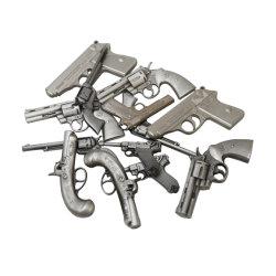 مسدس مسدس جماعية مخصصة نسخة طبق الأصل كاملة ثلاثية الأبعاد المعدنية الحرف اليدوية منقوشة تذكارات الزنك ألولي لبيل الدبوس/الشارة/الأمبريم/الكين كما هو الحال الهدايا