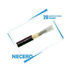 Necero 20 años de la fábrica de fibra óptica varados tubo suelto al aire libre GYFTY GYFTY53/Metro cable de fibra óptica directa enterrar