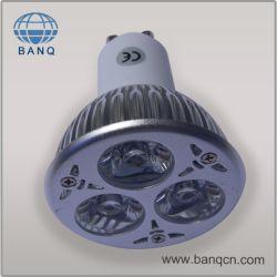 إضاءة LED بتقنية 3 واط قابلة للتخفيت (3 شرائح، CE & RoHS)