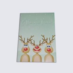맞춤형 크리스마스 선물 생일 축하 음성 녹음 인사말 카드
