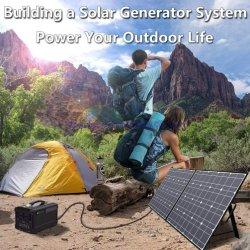 Yacht Panel solar fotovoltaico 120W Sistema Generador solar celdas de carga de batería 24V