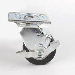 Placa superior de borracha preta Industrial rodas de apoio para skate