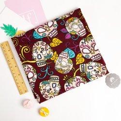 De Digitale Afgedrukte Rek Franse Terry Cotton Knit Fabric van de douane