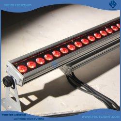 Eclairage extérieur 24X10W RGBW4In1 barre LED Projecteur mural