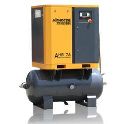 Compressore d'aria rotativo della vite del biogas poco costoso di prezzi della fabbrica con un prezzo basso con il serbatoio 500L