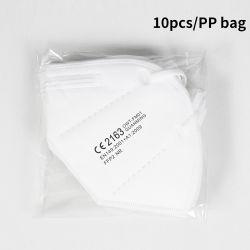 Staubdichte Anti-Smog Gesichtsmaske Hersteller des Falz-5 der Falte-FFP2 für Großverkauf