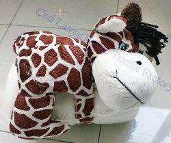 A Norma CE BSCI Oekotex e fábrica de auditoria Bonitinha Bebé Velo Coral cobertores com brinquedo Animal