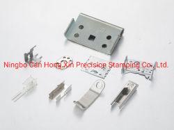 Comunicação, as partes metálicas do contacto de relé Reed Hardware Electrónico Eléctrico de estilhaços de estilhaços de metal contato da mola Precision carimbar o Contato de Metal