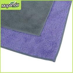 Venda a quente de lavagem de alta qualidade suave toalhas de microfibra de vidro de cozinha toalha limpa