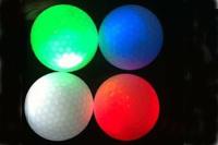 Светодиод мяч для гольфа