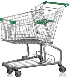 Moderne Art-Supermarkt-Einkaufen-Laufkatze-Karre