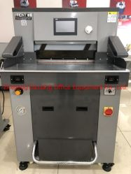 520mm Programm-Steuerhydraulischer Guillotine-Scherblock/Papierausschnitt-Maschinen-Preis
