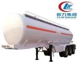 3 차축 35-45ton 42000 리터 알루미늄 합금 탄소 강철 스테인리스 강철 원유 액체 보관 운송 세미 트레일러 오일 탱커 트레일러 연료 탱크 트레일러
