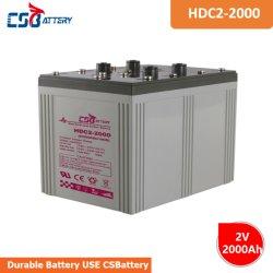 La batteria del carbonio del cavo di Solare-Memoria di Csbattery 2V2000ah per l'Emergenza-Illuminazione/Recupero-Potere-Fornisce/Elettrico-Rotella-Presidenza