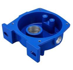 Protezione dell'albero di verniciatura a spruzzo lavorata a macchina CNC in fusione di alluminio prodotta su misura Coperchio n. 4